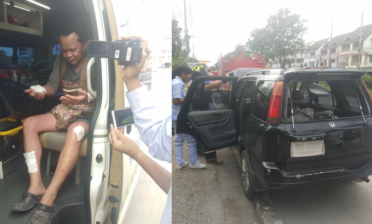 Gas Leak In Car >> Man Injured As Leaking Gas Causes Internal Car Explosion In
