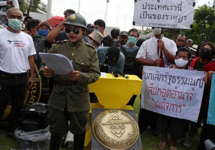 Activists in Bangkok