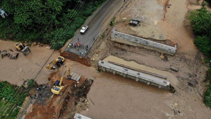 Chiang Mai Road Mudslide