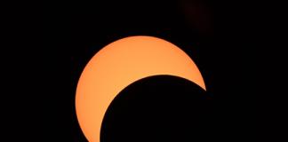 Partial Solar Eclipse Chiang Mai