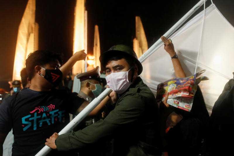Peaceful Protests in Bangkok