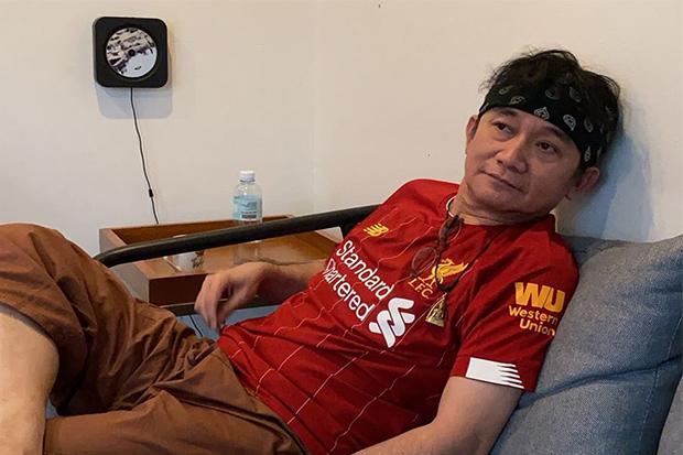 Thai Singer Liverpool Fan