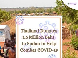 Thailand Donates Money To Sudan
