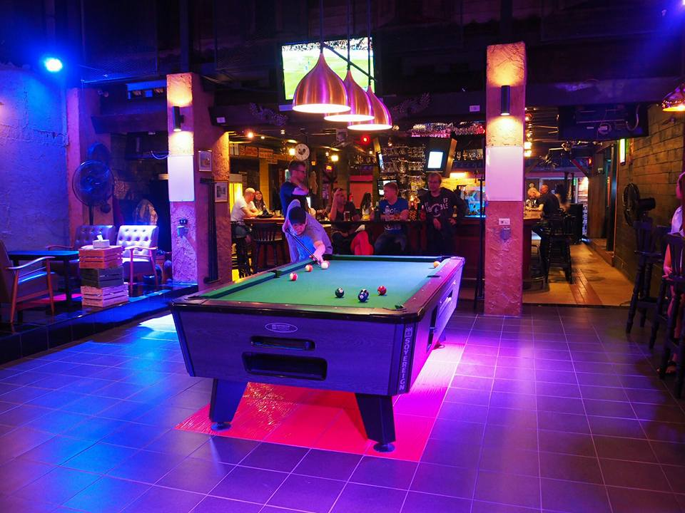Pool Table Number1 Bistro/Cafe