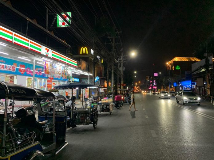 Empty Streets Chiang Mai