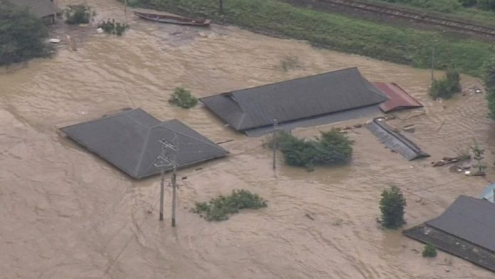 Floods in Japan