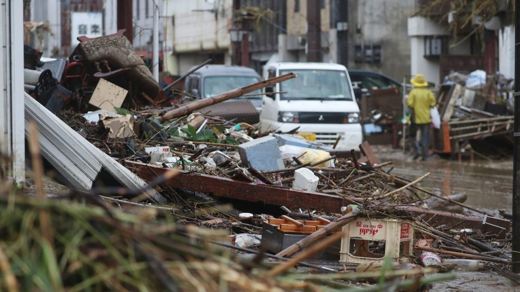 Japan Floods Leave Many Dead