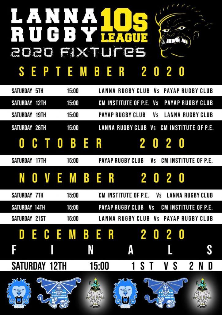 Lanna Rugby Fixtures