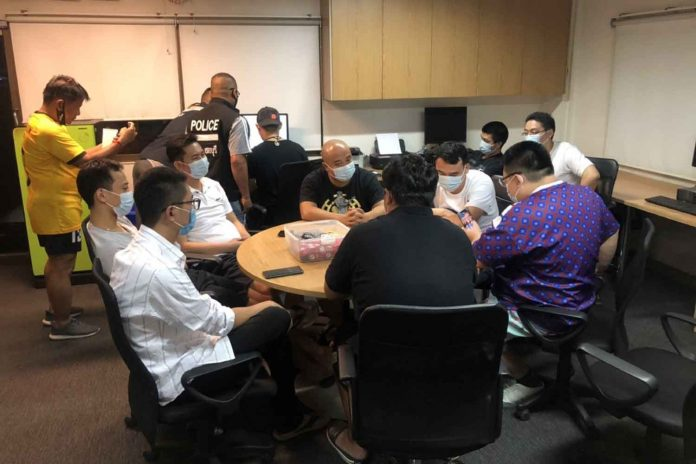 Poker Players Arrested
