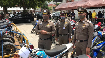 Street Racing Arrests Chiang Mai