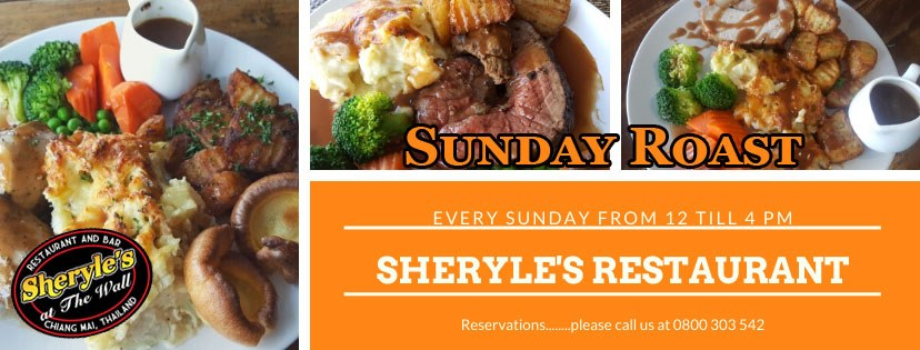 Sunday Lunch Sheryle's Bar & Restaurant