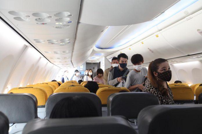 Thais on Plane