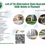 List of Alternative State Quarantine Hotels