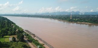 Mekong River Rising Water Levels