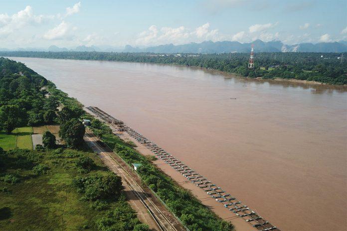 Mekong River Rising Water Levels