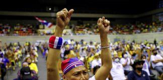 Royalists Rally In Bangkok
