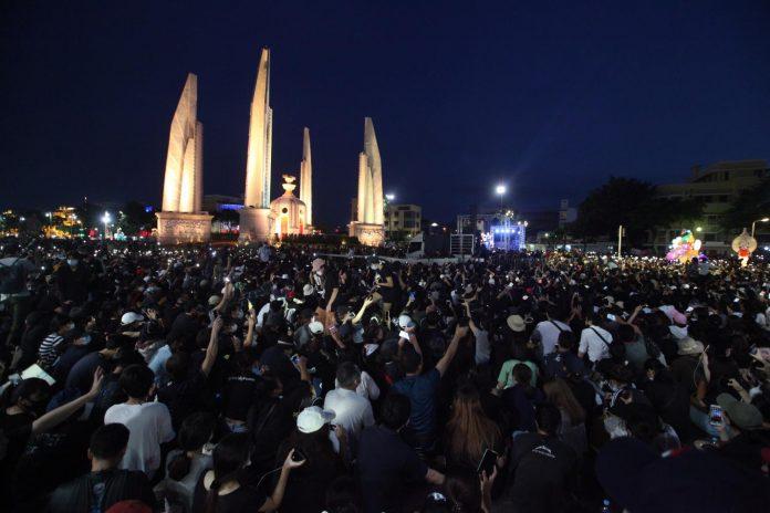 Student Rally in Bangkok
