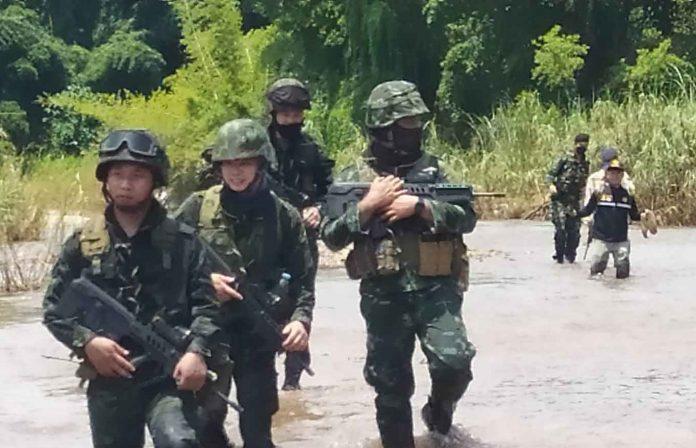 Border Areas On High Alert