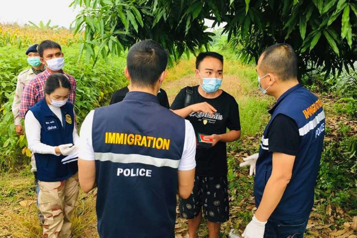 Chinese Caught in Mae Sot