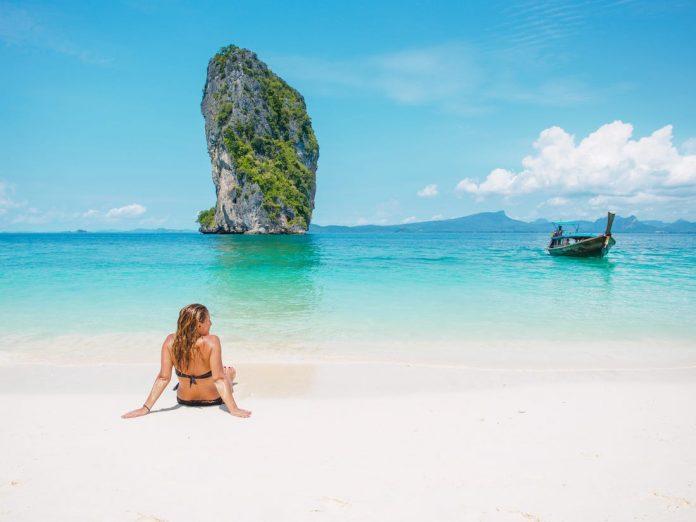Girl on Thailand Beach