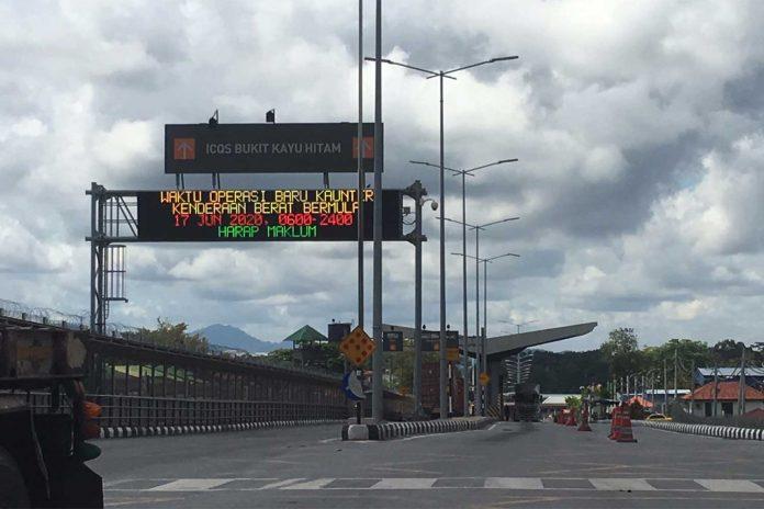 Sadao Border Closed