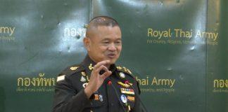 Army Chief Gen Narongphan Jitkaewtae