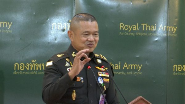 Army Chief Gen Narongphan Jitkaewtae