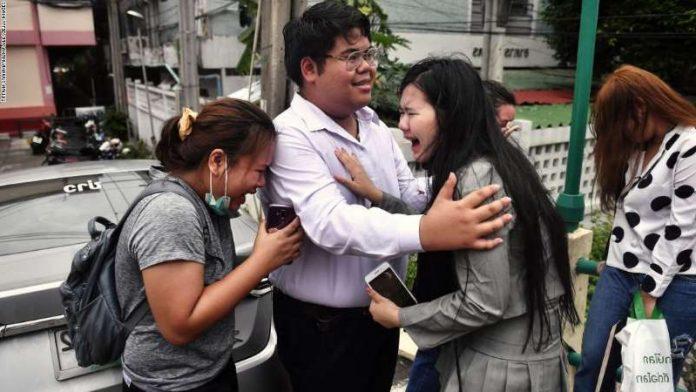 Bunkueanun Paothong Thai Protester
