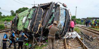 Bus Crash with Train