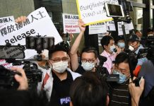 Hong Kong Activists Supporting Thai Protesters
