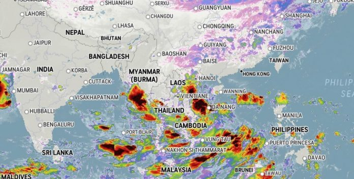 Weather Warning Thailand