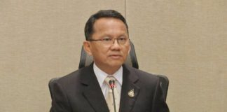 Justice Minister Somsak Thepsutin