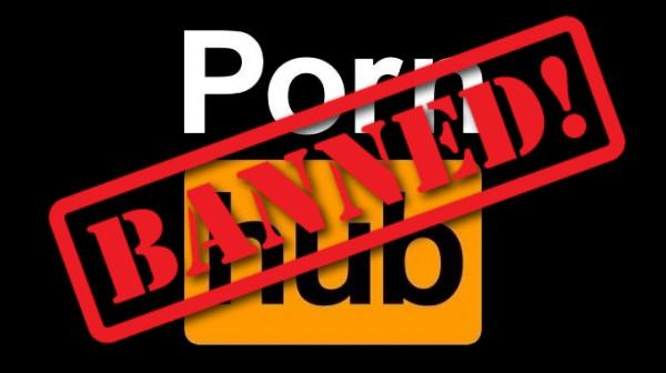 Pornhub Banned