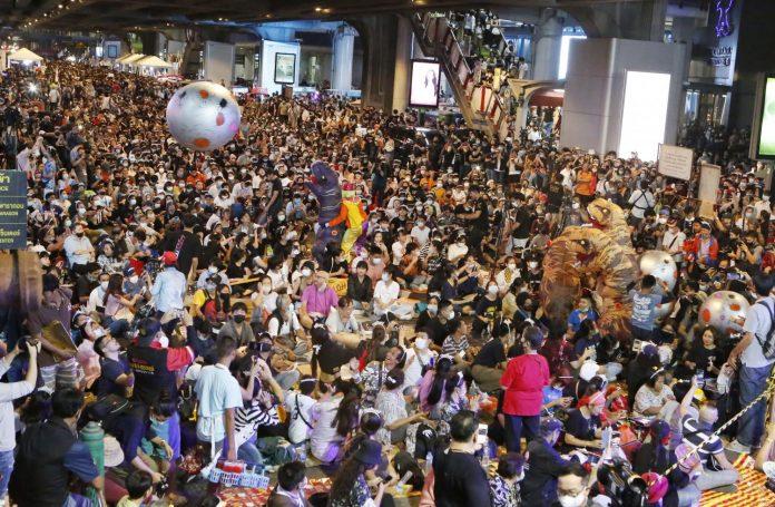 Protesters Bangkok
