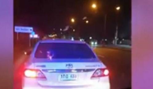 Ambulance Blocked by Drunk Driver