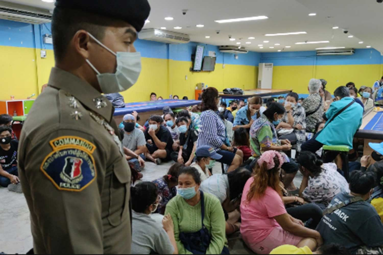 Gambling Den Raid Rayong