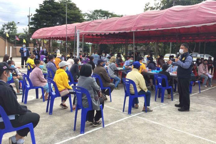 Migrant Workers Tested In Chiang Mai