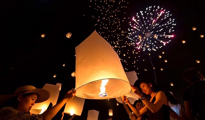 New Years Eve Chiang Mai