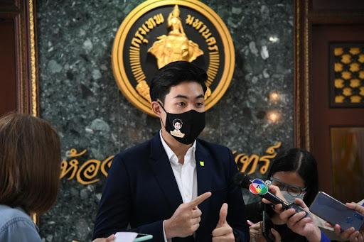 BMA Spokesman Pongsakorn Kwanmuang