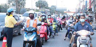 COVID-19 Checkpoints Pattaya