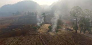 Crop Burning Chiang Mai