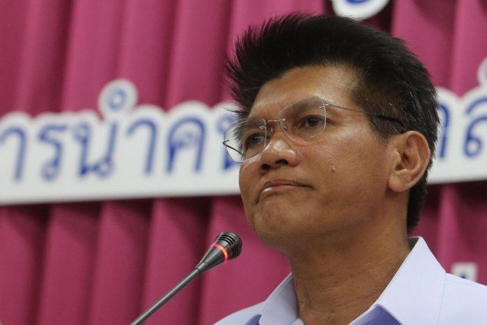Deputy Minister Sathit Pitutecha