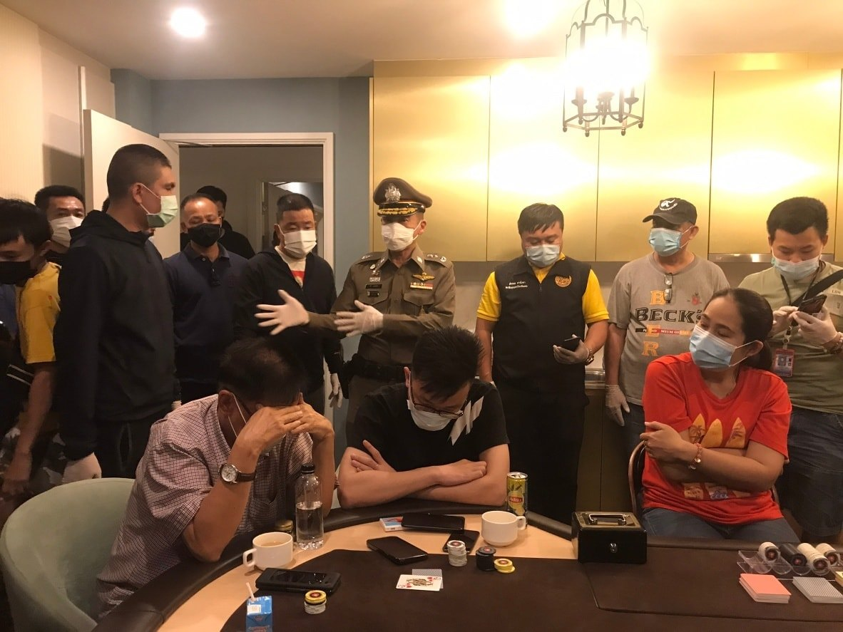Gambling Den Pattaya Condo