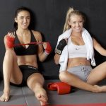 Muay Thai Kickboxing Girls