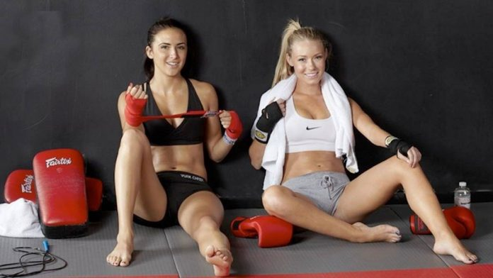 Muay Thai Kickboxing Girls