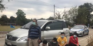 People Smugglers Busted in Chiang Rai
