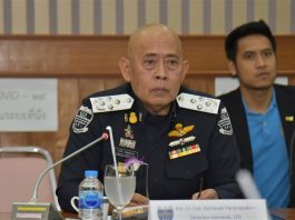 Pol Lt Col Korrawat Panpraphakorn DSI director-general