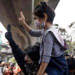 Protesters In Bangkok 2021