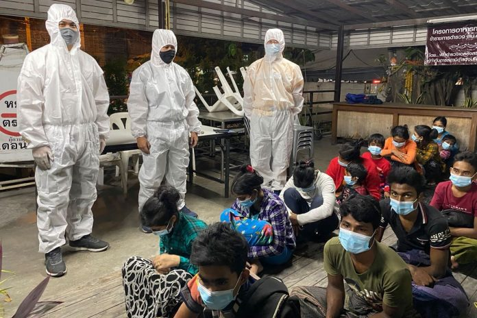 Rohingya Migrants Arrested In Thailand
