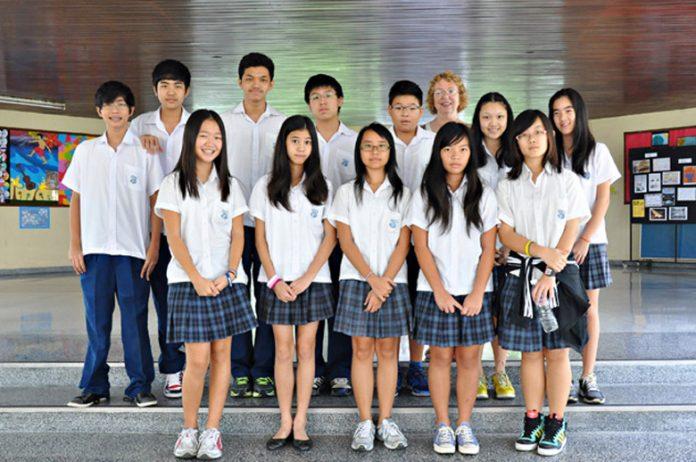 School Kids Thailand